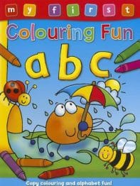 Picture of my first colouring fun abc book